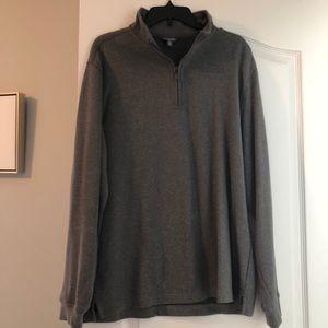 Van Heusen Pullover - EUC Large Gray Sweater